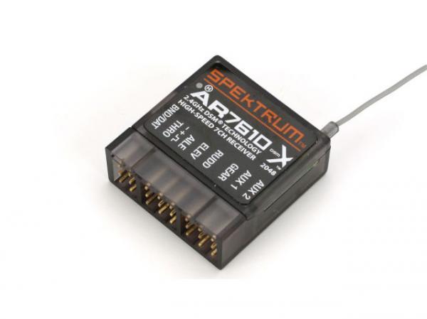 Spektrum AR7610 DSSMX 7-Kanal Hi-Speed Empfänger