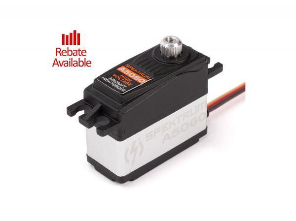 Spektrum A5060 Mini HV Digital Hi-Torque Metallgetriebe Flug- Servo