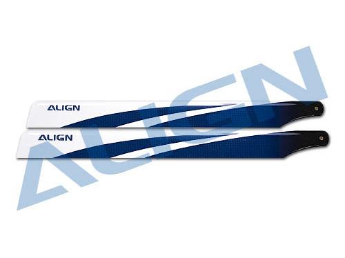 Align 450L DOMINATOR 3G Carbon FBL Rotorblätter 360mm Blau