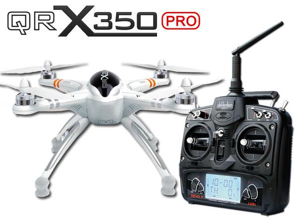 Walkera QR X350 PRO Basic RTF Quadcopter mit DEVO 7