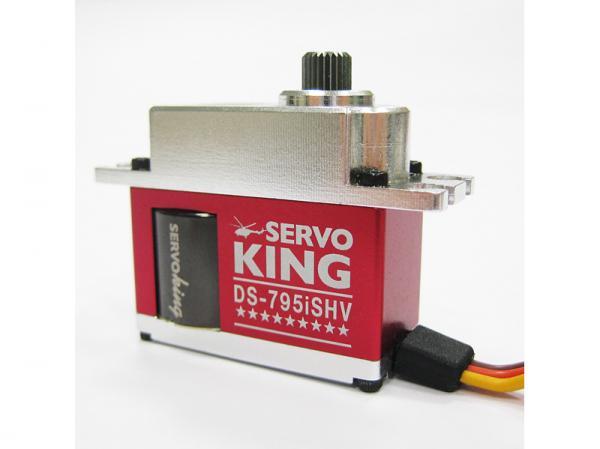Servo King Mini HV Heckservo DS 795 iSHV mit Alu Gehäuse 760us