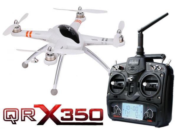 Walkera GPS QR X350 V1.2 RTF Quadcopter mit DEVO 7 (leicht gebraucht)