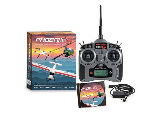 Phoenix RC Pro Simulator V5.0 Flugsimulator mit DX6i