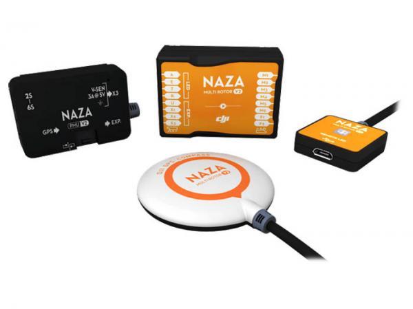 DJI Stabilisierungssystem NAZA-M V2 + GPS Modul