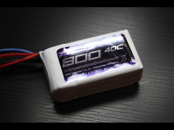 SLS XTRON 800mAh 3S1P 11,1V 40C/80C