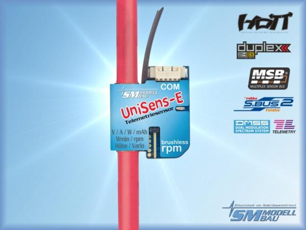 UniSens-E mit 4 mm² Silikonkabel (Multisensor) # 3105