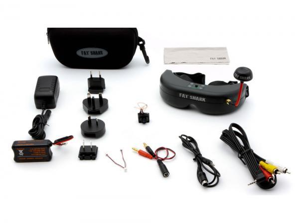 Spektrum Ultra Micro FPV System mit Videobrille Teleporter V4