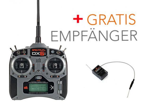 Spektrum DX6i Sender SET mit GRATIS EMPFÄNGER AR610