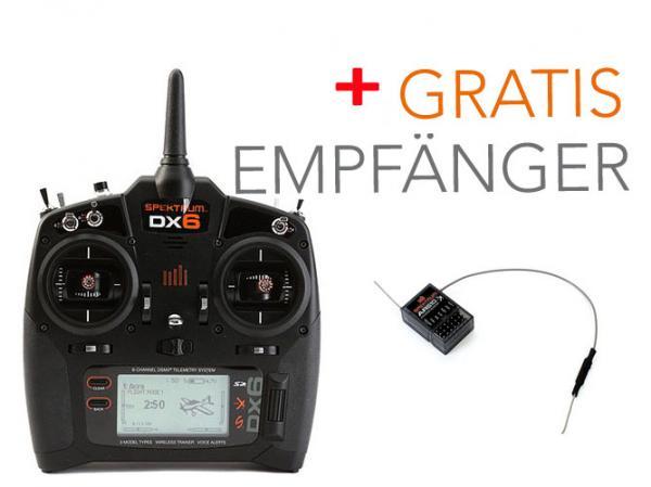 Spektrum DX6 Sender SET mit GRATIS EMPFÄNGER AR610
