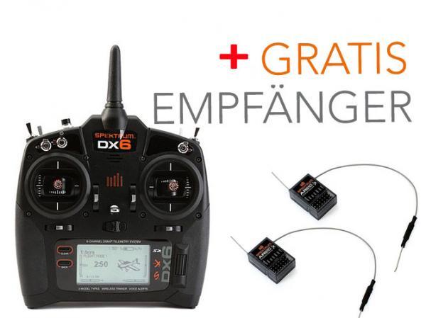 Spektrum DX6 Sender mit AR610 und 1x AR610 Gratis