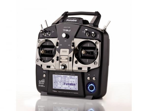 Futaba FHSS / S-FHSS Sender T-8J & Empfänger R2008SB