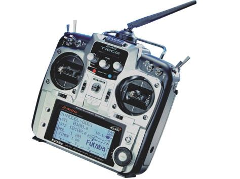 Futaba Sender T10CG & Empfänger R6308SBT FASST