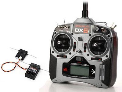 SPEKTRUM DX6i DSMx 2,4GHz Sender & Empfänger AR6210