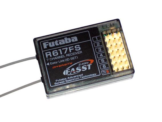 Futaba  Empfänger R-617 FS 2,4 GHz 7 Kanal