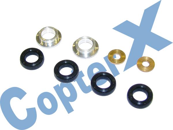 CopterX Dämpfergummi Set