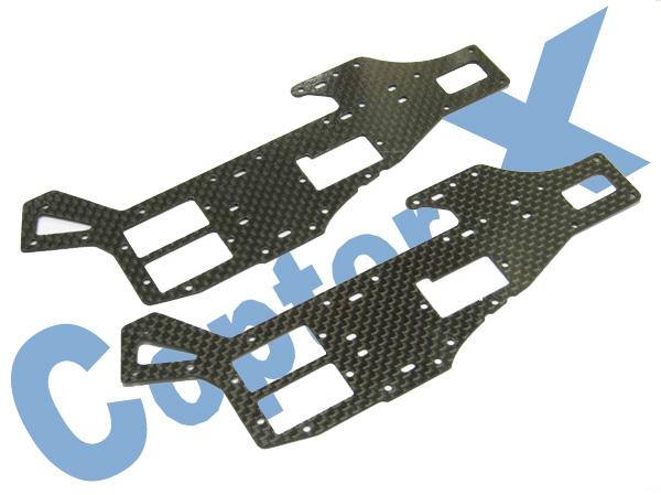 CopterX Rahmenteile oben