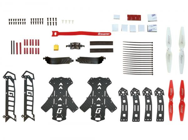 Graupner 3D COPTER ALPHA 300Q Chassis Bausatz