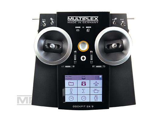 Multiplex COCKPIT SX 9 Set mit Empfänger RX-9-DR