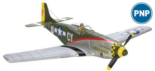 """Parkzone P-51D Mustang """"Gunfighter"""" Brushless  PNP"""