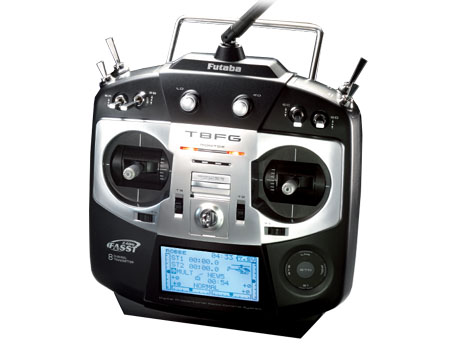 Futaba Sender T8FG LiPo Uni-Mode & Empfänger R-6108SB