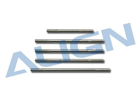 Align Stainless Steel Linkage Rod T-Rex 450 Sport