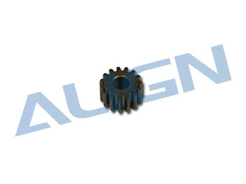 Align Ritzel 15Z  M0,4 Welle Ø2,5mm Metal für T-Rex 250
