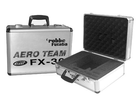Futaba Alu-Senderkoffer Aero Team