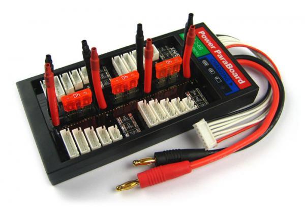 4er Parallellade-Board mit Sicherung ohne Stecker (universal)