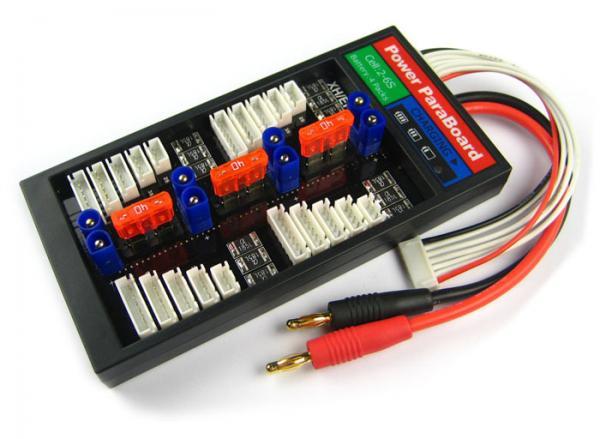 4er Parallellade-Board mit Sicherung EC3