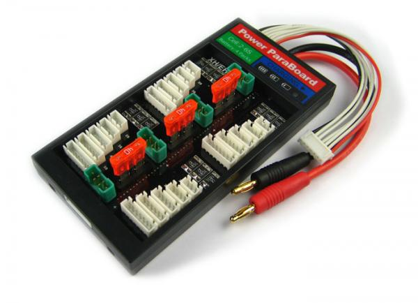 4er Parallellade-Board mit Sicherung MPX