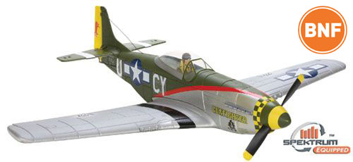 Parkzone P-51D Mustang Gunfighter BNF