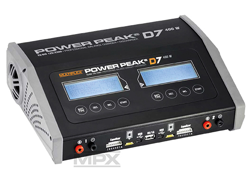 Multiplex Power Peak® D7 EQ-BID 12V/230V