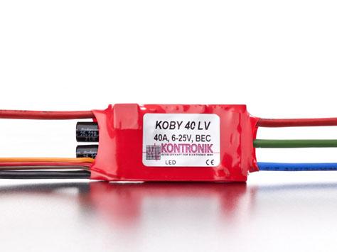 Kontronik Brushless Regler KOBY 40 LV