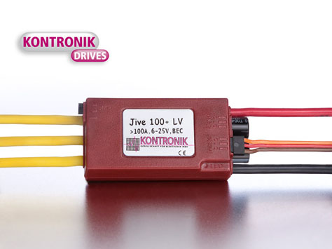 Kontronik Brushless Regler JIVE 100+ LV
