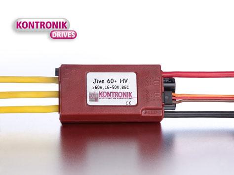 Kontronik Brushless Regler  JIVE 60+ HV
