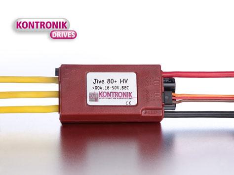 Kontronik Brushless Regler  JIVE 80+ HV