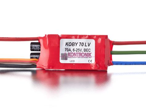 Kontronik Brushless Regler  KOBY 70 LV