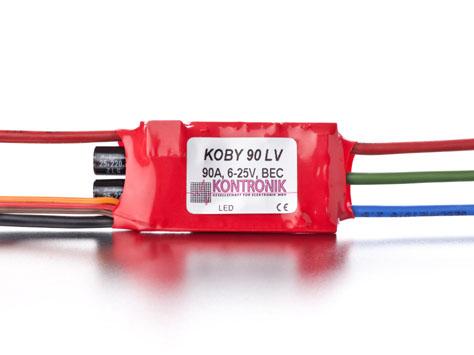 Kontronik Brushless Regler KOBY 90 LV