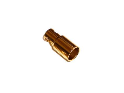 Goldkontakt Buchse 6mm
