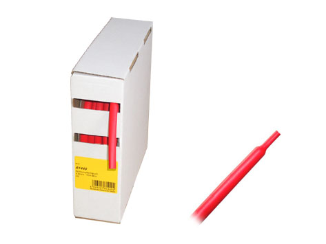 Schrumpfschlauch rot 10m BOX Ø 4,8mm