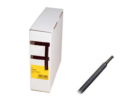 Schrumpfschlauch schwarz 10m BOX Ø 4,8mm