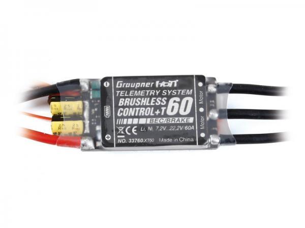 Graupner 60A BRUSHLESS CONTROL +T 60 XT60
