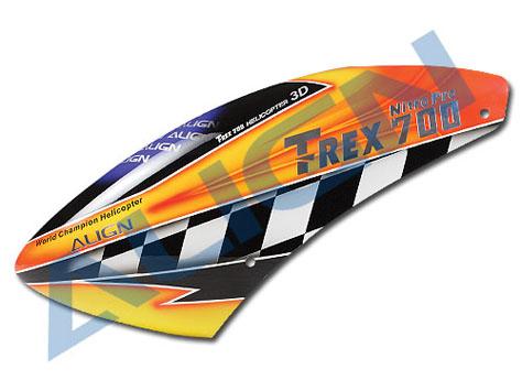 Align T-Rex 700N Haube Fiberglas Lackiert