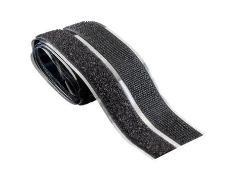 Klettband Skl. Sw. 2x20mm x 0,5m selbstklebend
