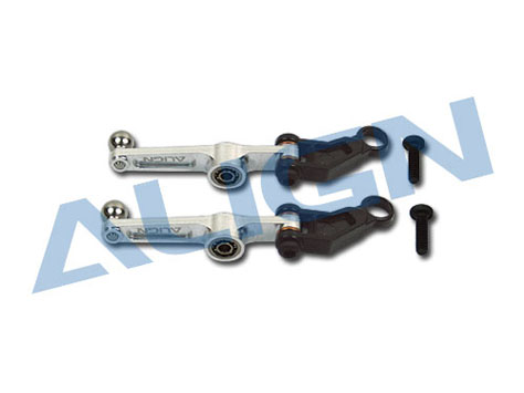 Align T-Rex 250SE Metal Washout Control Arm/Silver