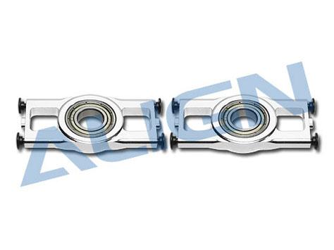 Align T-Rex 700E Lagerbock - CNC Aluminium (silber)