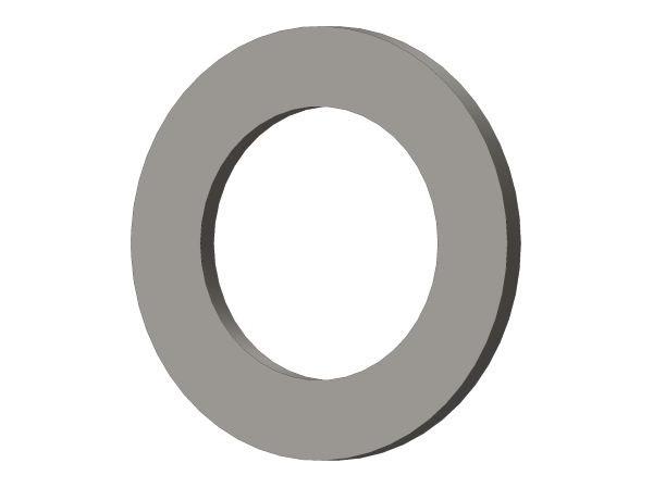 CORE 700 2x 446736 - Distanzscheibe Stahl 10x16x1