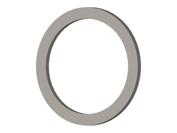 CORE 700 2x 447023 - Distanzscheibe Stahl 8x10x0,5