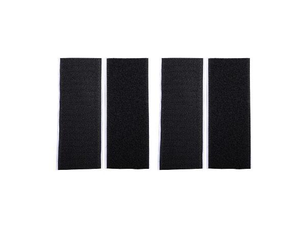 CORE 700 Klettklebeband (Set) 2x 38x100mm Haken und Flauchband