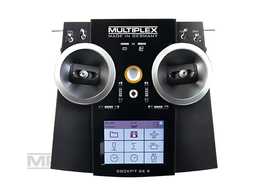 Multiplex COCKPIT SX 9 Sender - Set